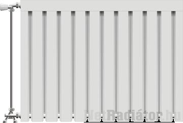 Viking aluminium radiátor 600 mm kötéstáv 10 tag