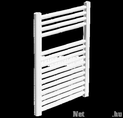 Sanica 400X1200 íves törölközőszárító radiátor fehér