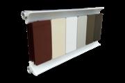 Romantik Classic fehér szinterezett aluminium radiátor 1800mm kötéstáv 1 tagos