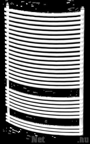 Dunaferr BOSSA RADIUS 1200x500mm íves törölközőszárító radiátor